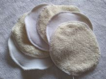 Bamboo & Fleece Washable  Cleansing Pads